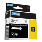 Dymo 18483 IND 1/2 White Permanent Poly Labels