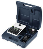 PT-2030VP label printer with case front view