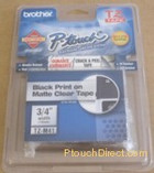 Brother TZM41 Label Tape p-touch Matte