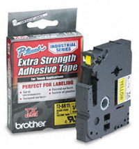 Brother tzs611 extra strength label tape
