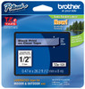 "Brother TZe-131 1/2"" Black on Clear P-touch Tape"