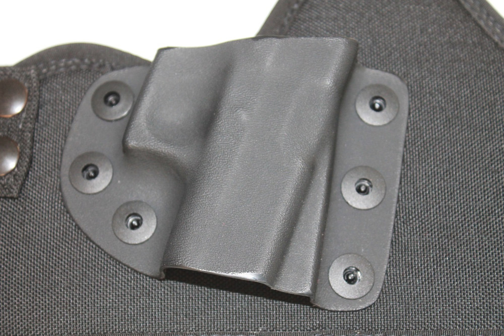 The thermo formed kydex shell provides maximum trigger protection as well as positive retention on your firearm.