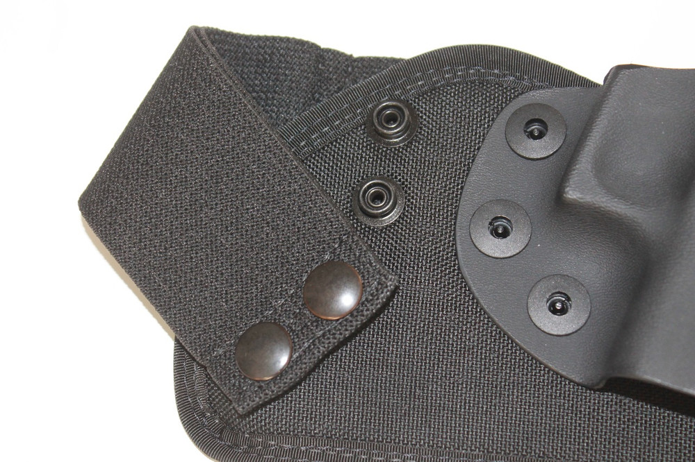 The Rapid Snap military grade integrated belt system allows for fast on and off of your IWB concealed carry system.