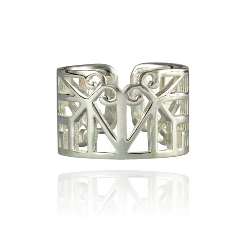 Bokeo Ring - Sterling Silver