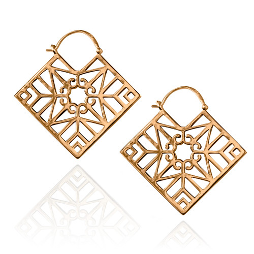 Bokeo Earrings - Rose Gold