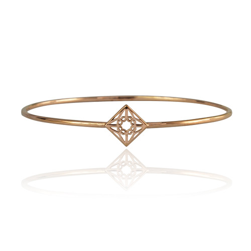 Lao Bangle - Rose Gold