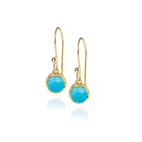 Dosha Earrings - Gold - Turquoise