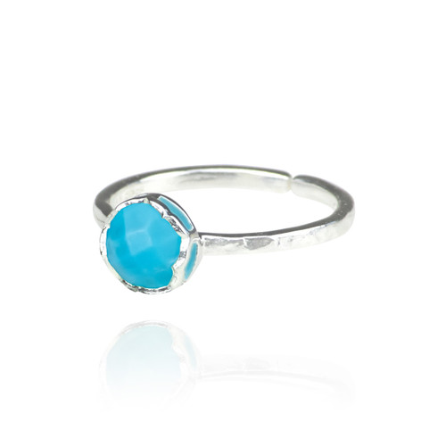 Dosha Ring - Silver - Turquoise