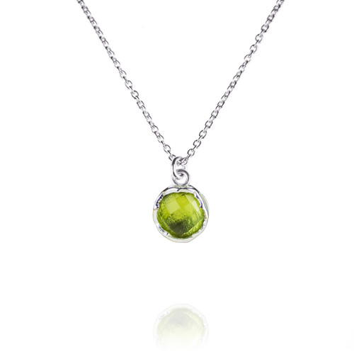 Dosha Necklace - Silver - Peridot
