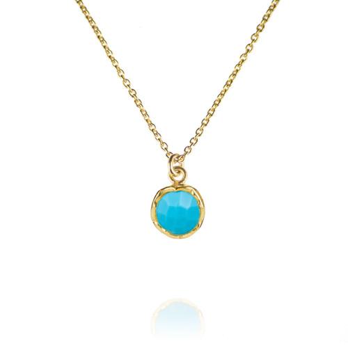 Dosha Necklace - Gold - Turquoise