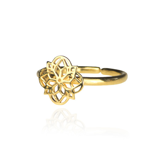 Mandala Ring - Gold