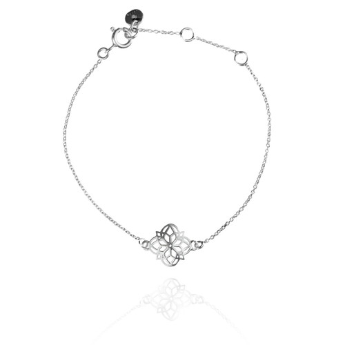 Mandala Bracelet - Silver