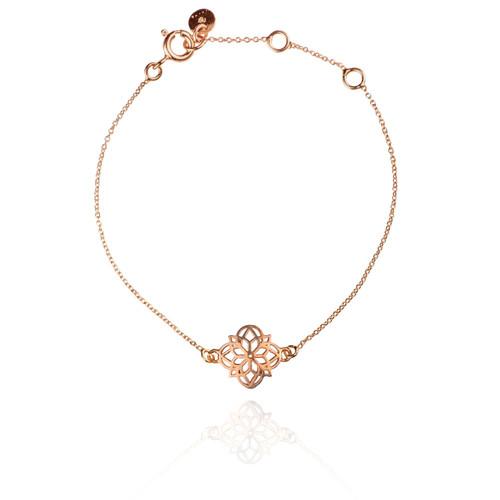 Mandala Bracelet - Rose Gold