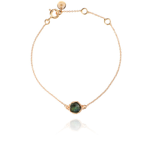 Dosha Bracelet - Rose Gold - Labradorite