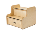 step up stool deluxe