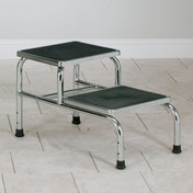 Chrome Two Step Stool