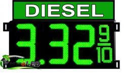 DIESEL - LED Gas Price Signs