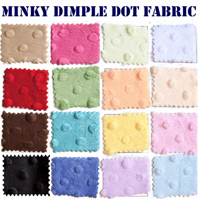 Dimple Dot Minky Fabric Bulkfabric Com