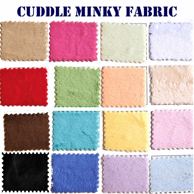 Minky Solid Fabric