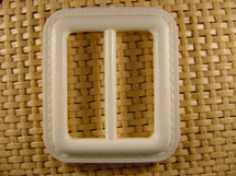 (12pcs) Buckle 1 1/2 inches X 1 3/4 inches Off White #bag-152
