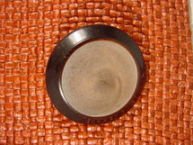 (12pcs) Designer Shank Buttons 1 1/2 inches Chocolate Brown #bag-304