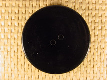 (12pcs) 2 holes Designer Buttons 1 1/2 inch Black #bag-68