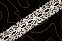 "1 1/2"" Natural Wholesale Lace Trim #lace-165"