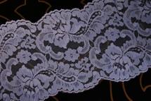 """5"""" Blue Floral Wholesale Lace Trim #lace-521"""