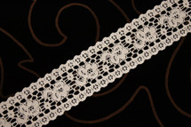 "1 1/2"" Natural Wholesale Lace Trim"