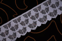 "2 1/4"" Dusty Blue Wholesale Lace Trim #lace-91"