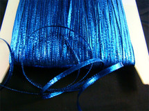 "1/4"" Royal Blue Metallic Trim LT-159"