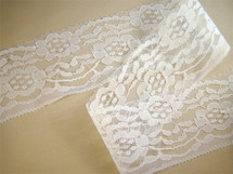 "3"" Pure White Fine Lace LT-198"