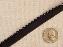 Black Beaded Edging #-LT-208