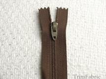 """7"""" Walnut Zipper #ZP-32"""