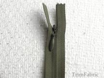 "8"" Olive Green Invisible Zipper #-ZP-504"