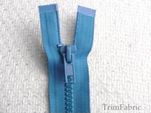 """36"""" Ocean Blue Separating Zipper #-ZP-707"""