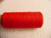 500 yard spool thread Red #-Thread-1