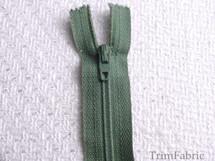 "7"" Sea Green Zipper #ZP-24"