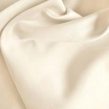 Cream Peachskin Fabric