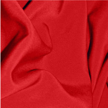 Wholesale Scarlet Red Peachskin Fabric
