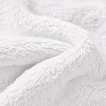 White whisper cuddle Fleece Wholesale