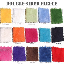 Double Sided Minky Cuddle Fleece Fabric