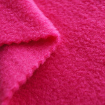 Fuchsia Anti-Pill Yukon Fleece Fabric