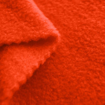 Pumpkin Anti-Pill Yukon Fleece Fabric