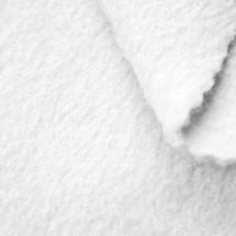 White Anti-Pill Yukon Fleece Fabric