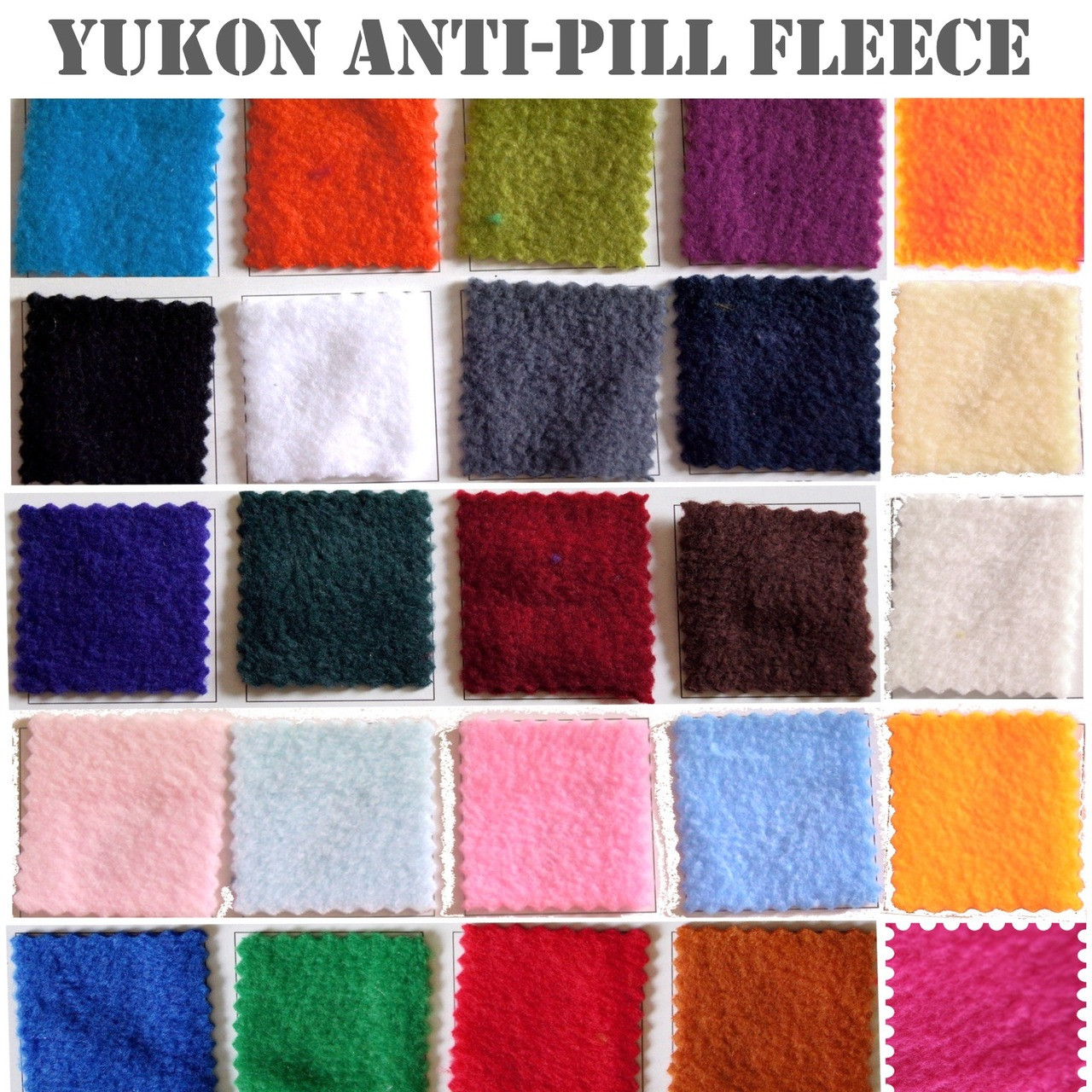 Anti Pill Fleece Yukon Fleece Fabric Wholesale