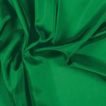 Kelly Green Pongee Lining Fabric