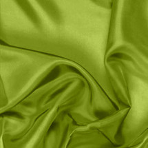 Lime Green Pongee Lining Fabric
