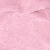 Solid Pink Minky Fabric