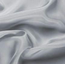 """Silver China Silk Lining - 60"""" wide polyester lining fabric"""